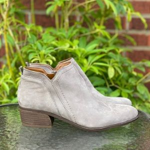 Franco Sarto Laslo Leather Ankle Booties size 7.5